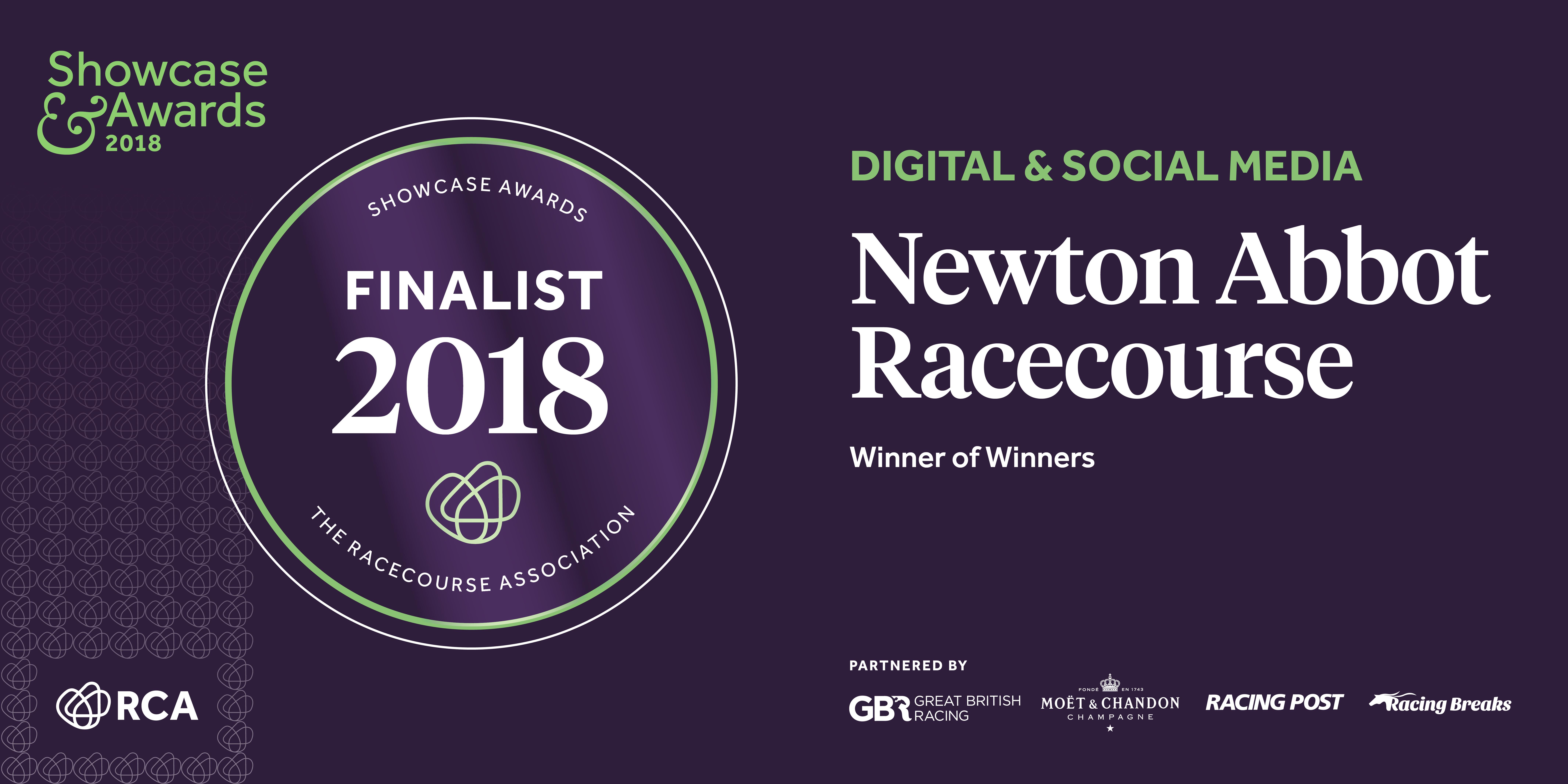 Newton Abbot Racecourse - Showcase & Awards 2018 Finalists