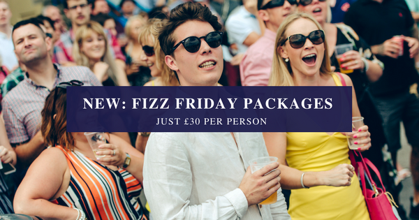 Fizz Friday Packages at Newton Abbot Racecourse