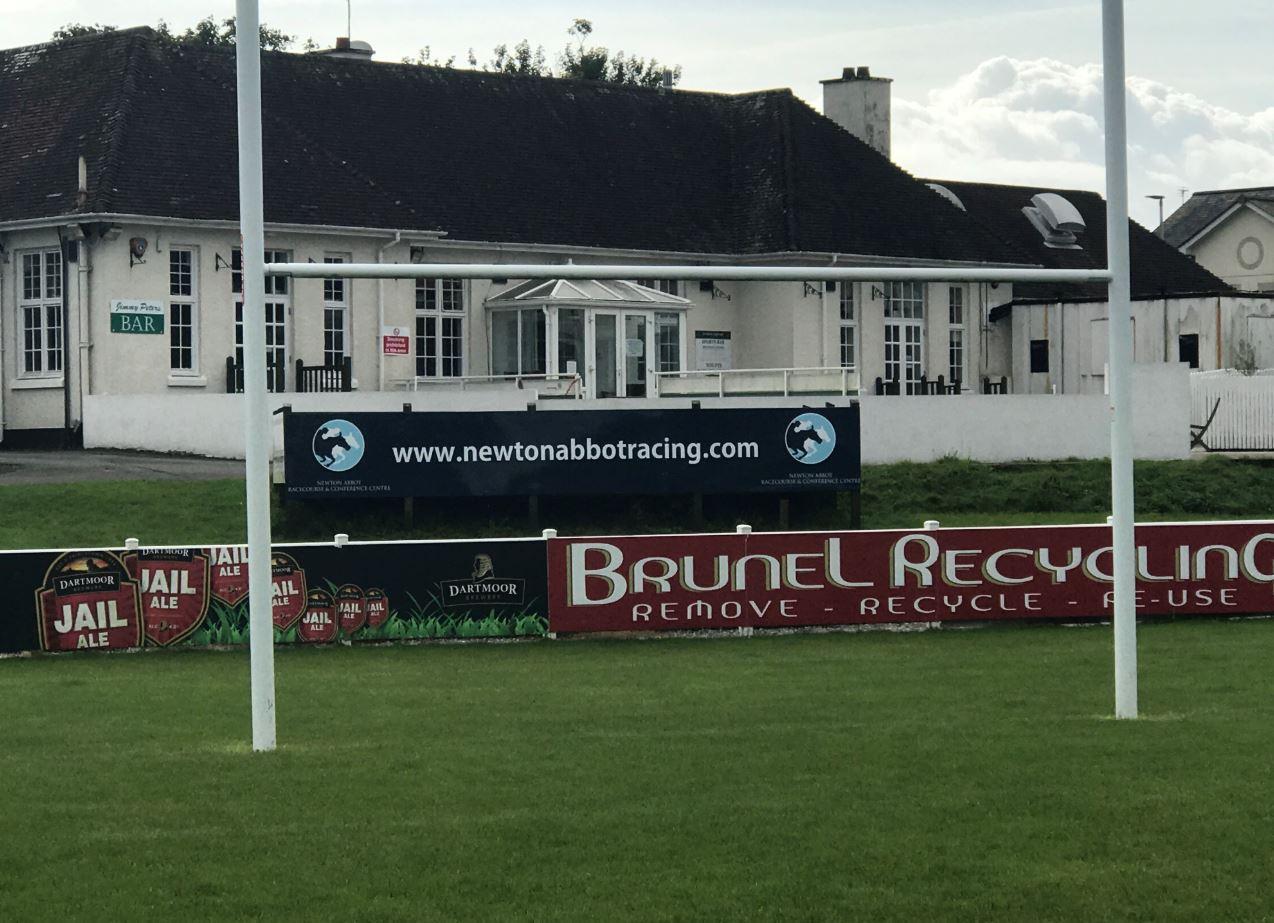 Newton Abbot Racecourse Sponsor Plymouth Albion 2017