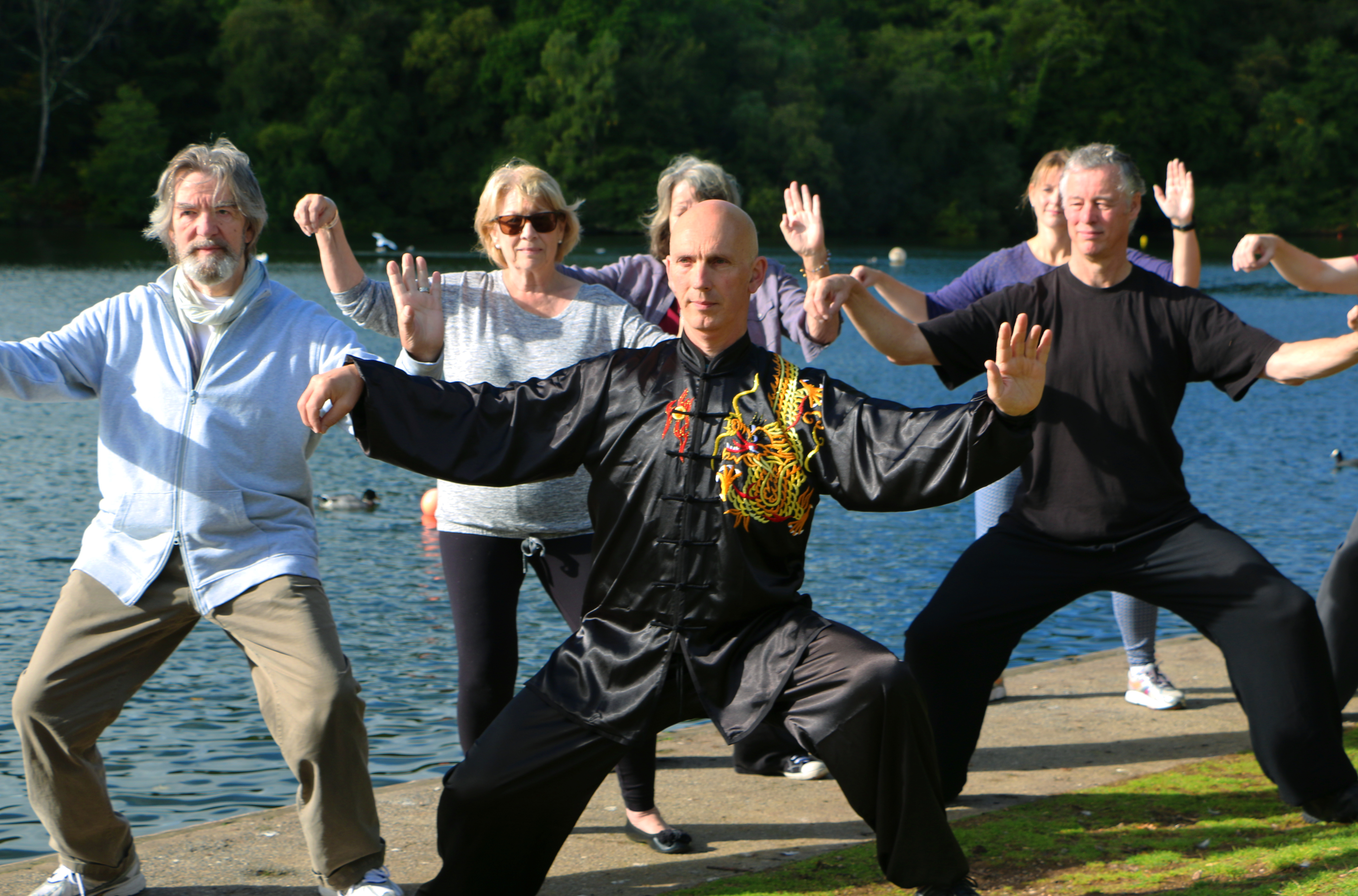 Tai Chi at Newton Abbot Wellbeing Show
